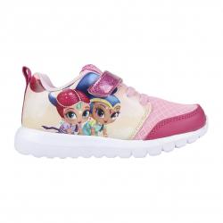 Dětská rekreační obuv CERDA-Sporty shoes light sole Shimmer and Shine pink