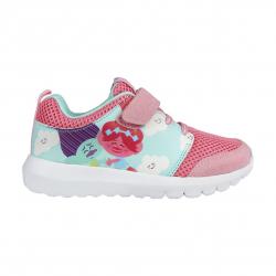 Detská rekreačná obuv CERDA-Sporty shoes light sole Trolls pink