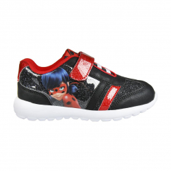 Detská rekreačná obuv CERDA-Sporty shoes light sole Lady Bug black