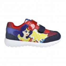 Dětská rekreační obuv CERDA-Sporty shoes light sole DC Superhero girls yellow