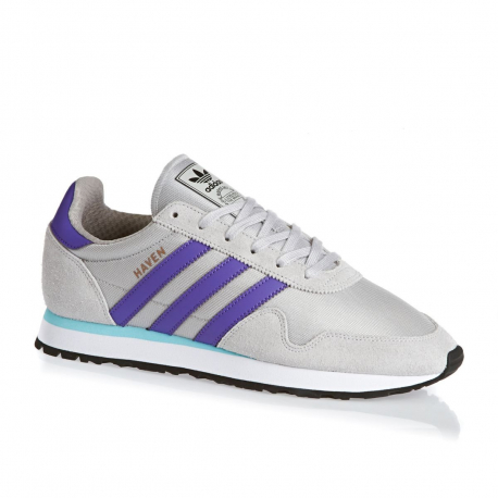 Pánska vychádzková obuv ADIDAS ORIGINALS-Haven solid grey/purple/clear aqua