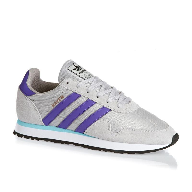 ADIDAS ORIGINALS-Haven solid grey/purple/clear aqua 46 Šedá