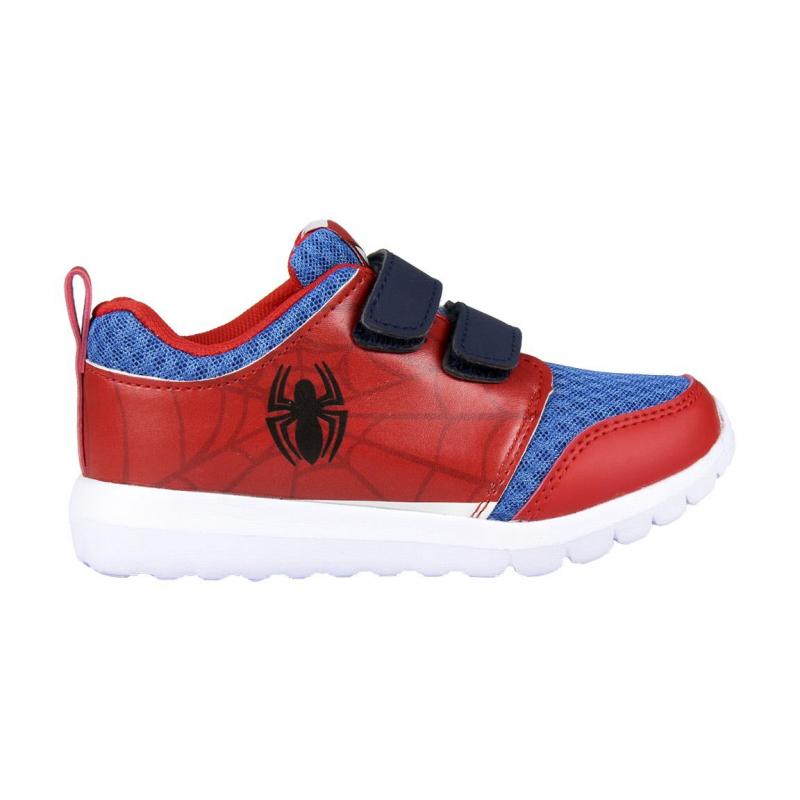 Detská rekreačná obuv CERDA-Spiderman blue red -