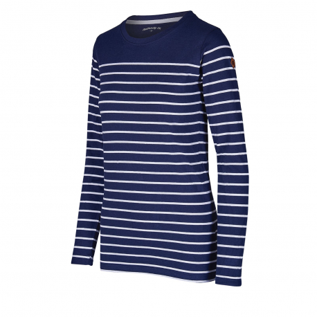Dámske tričko s dlhým rukávom AUTHORITY-TERXNA blue dk