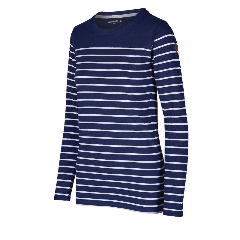 Dámske tričko s dlhým rukávom AUTHORITY-TERXNA blue dk -