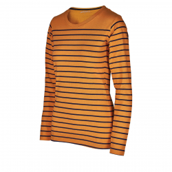 Dámske tričko s dlhým rukávom AUTHORITY-TERXNA yellow