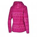 Dámska flisová mikina s kapucňou AUTHORITY-NORWEY pink -