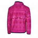 Dievčenská flisová mikina s celým zipsom AUTHORITY-NORKY KIDS pink -