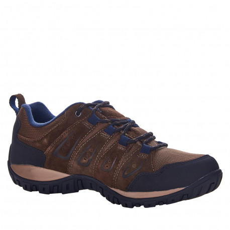 Pánska turistická obuv nízka BERG OUTDOOR-Priscus brown/navy