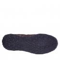 Pánska turistická obuv nízka BERG OUTDOOR-Priscus brown/navy -