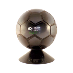 Fotbalový míč Lancast-F3C FOOTBALL BLACK