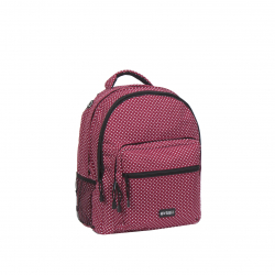 Školský ruksak NEW REBELS-school backpack burgundy/white