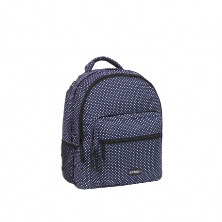 Dámsky batoh NEW REBELS-school backpack navy/white