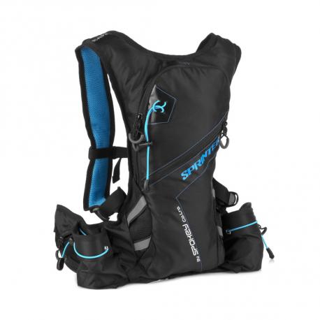 Batoh so zásobníkom vody (cyklobatoh, hydrovak) SPOKEY-SPRINTER Cyklistický a běžecký batoh 5l modro/černý, voděodo