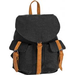 Dievčenský ruksak NEW REBELS-Basic plus pocket black