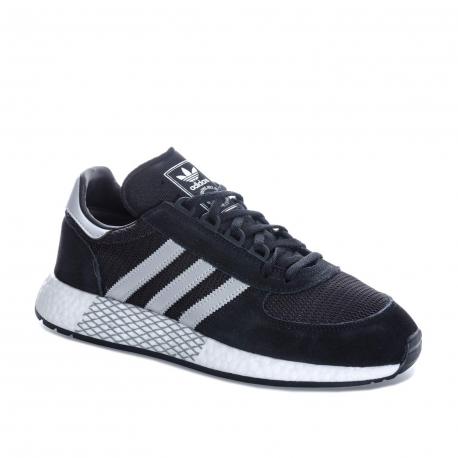 Pánska vychádzková obuv ADIDAS ORIGINALS-Marathon x5923 core black/silver metallic/white