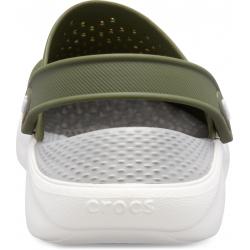 Kroksy (rekreačná obuv) CROCS-LiteRide Clog army green/white