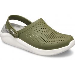Rekreační obuv CROCS-LiteRide Clog army green / white