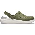 Kroksy (rekreačná obuv) CROCS-LiteRide Clog army green/white -