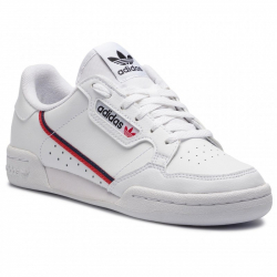 Dámská vycházková obuv ADIDAS ORIGINALS-Continental 80 ftwht / Scarlata / conavy