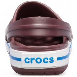 Kroksy (rekreačná obuv) CROCS-Crocband Burgundy/White