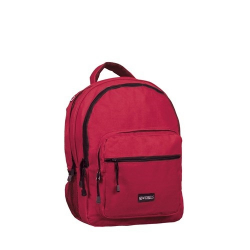 Školský ruksak NEW REBELS-school backpack burgundy