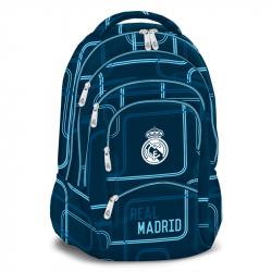 Ruksak REAL MADRID-REAL-modrý Plecniak 477- 5priestorový