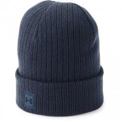 Zimní čepice UNDER ARMOUR-Truckstop Beanie 2.0-NVY - 1318517-408