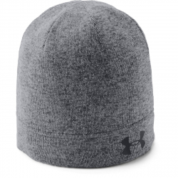 Zimní čepice UNDER ARMOUR-SweaterFleeceBeanie-BLK-1318527-001