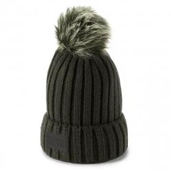 Dámska zimná čiapka UNDER ARMOUR-SnowcrestPomBeanie-GRN-1299905-357