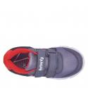 Detská rekreačná obuv AUTHORITY KIDS-Bado grey/red -