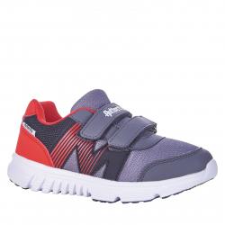 Detská rekreačná obuv AUTHORITY-Bado grey/red