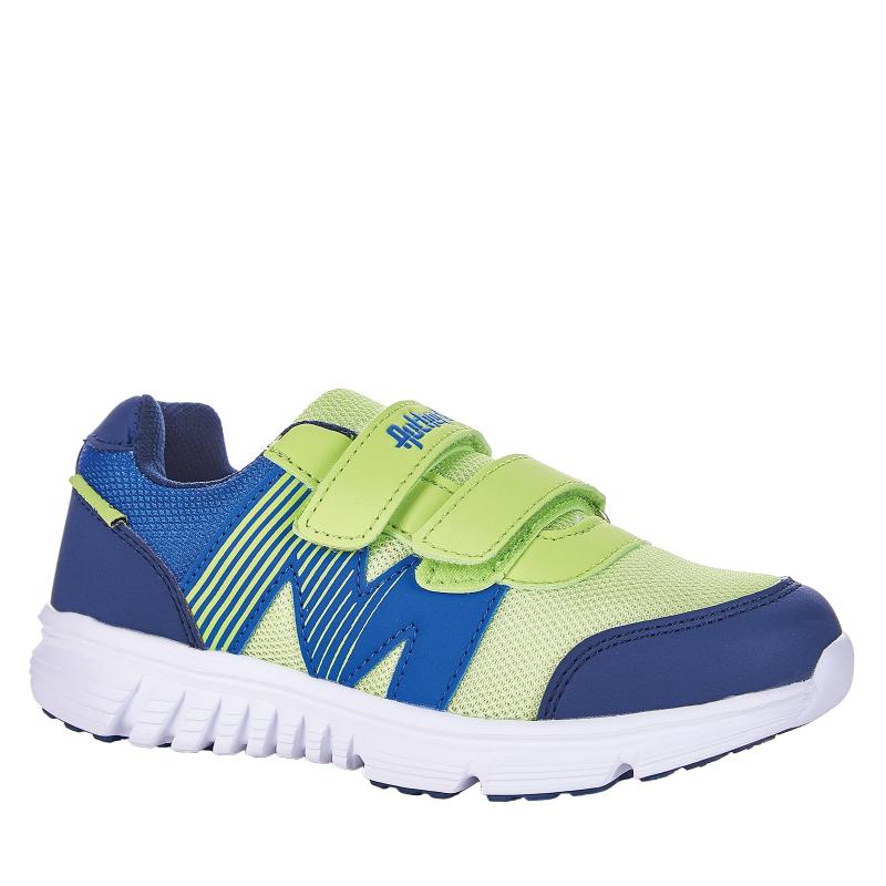 Detská rekreačná obuv AUTHORITY-Bado lime/navy -