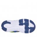 Detská rekreačná obuv AUTHORITY-Bado blue/lime -