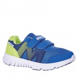 Detská rekreačná obuv AUTHORITY-Bado blue/lime