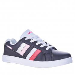 Juniorská rekreačná obuv AUTHORITY-Gate III black/white