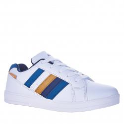Juniorská rekreačná obuv AUTHORITY-Gate III white/navy