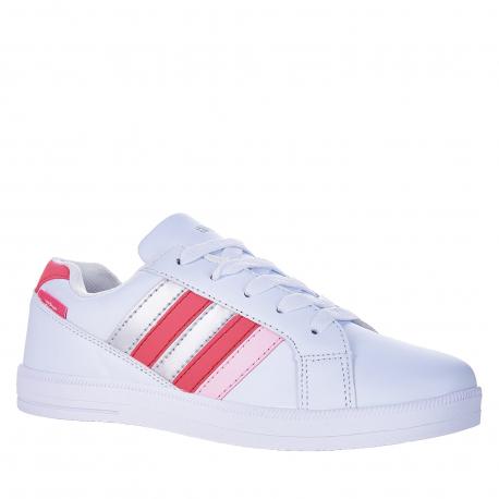 Juniorská rekreačná obuv AUTHORITY-Gate III white/pink