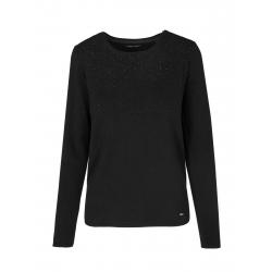 Dámsky sveter VOLCANO-S-EDITH-700-BLACK