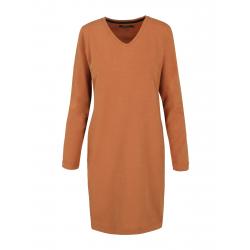 Dámske šaty VOLCANO-G-PATTI-214-MUSTARD