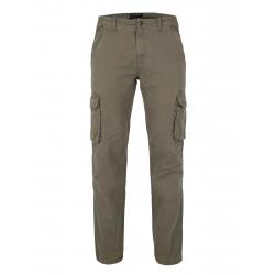 Pánske nohavice VOLCANO-R-HAMPTER-312-KHAKI