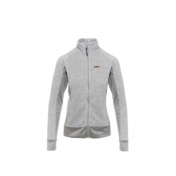 Dámska turistická mikina s celým zipsom SAM73-womens sweatshirt - sweater fleece-LPLM053773SM-light