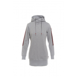 Dámska mikina s kapucňou SAM73-Womens sweatshirt-WM 736 401-light gray