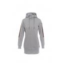 Dámska mikina s kapucňou SAM73-Womens sweatshirt-WM 736 401-light gray -