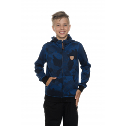 Chlapčenská mikina so zipsom SAM73-Boys sweatshirt-BM 513 240-dark blue