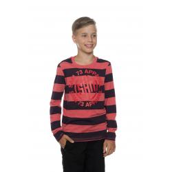Chlapčenské tričko s dlhým rukávom SAM73-Boys T-shirt long sleeves-BT 533 135-red