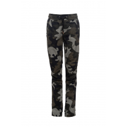 Chlapčenské nohavice SAM73-boys pants-BK 518 385-army