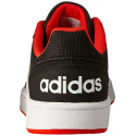 Juniorská rekreačná obuv ADIDAS CORE-HOOPS 2.0 K CBLACK/FTWWHT/HIRERE -
