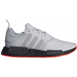 Pánská rekreační obuv ADIDAS ORIGINALS-NMD R1 grey / grey / solar red