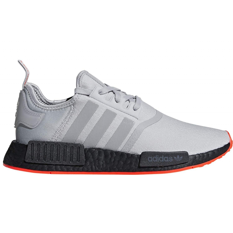 Pánska rekreačná obuv ADIDAS ORIGINALS-NMD R1 grey/grey/solar red -